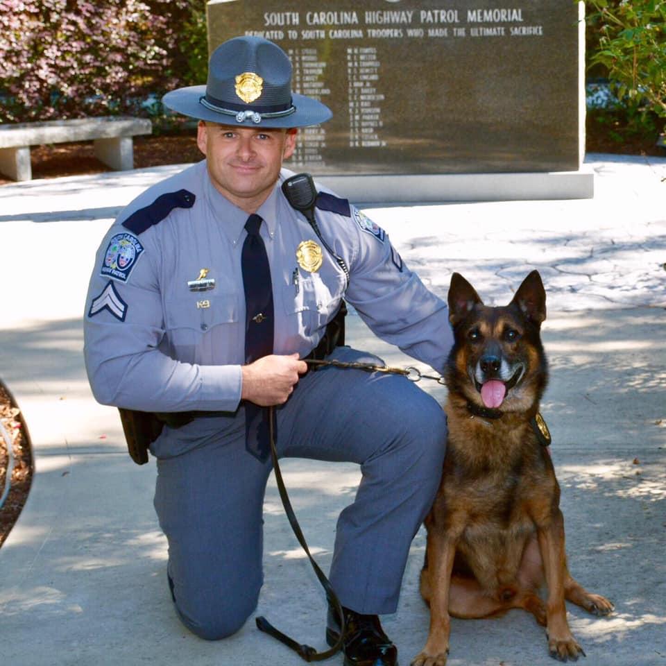 K9 Rao | South Carolina Highway Patrol, South Carolina