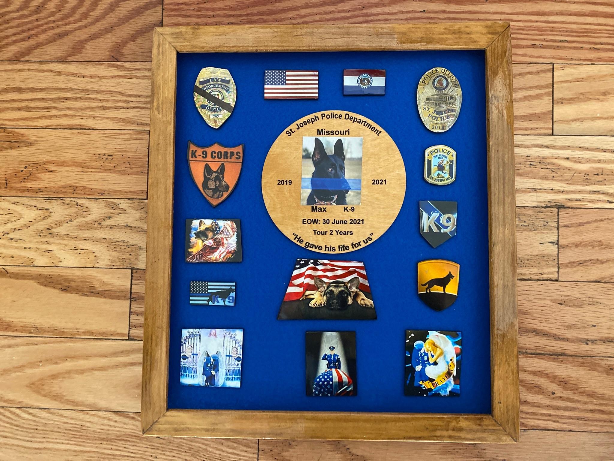 K9 Max | St. Joseph Police Department, Missouri