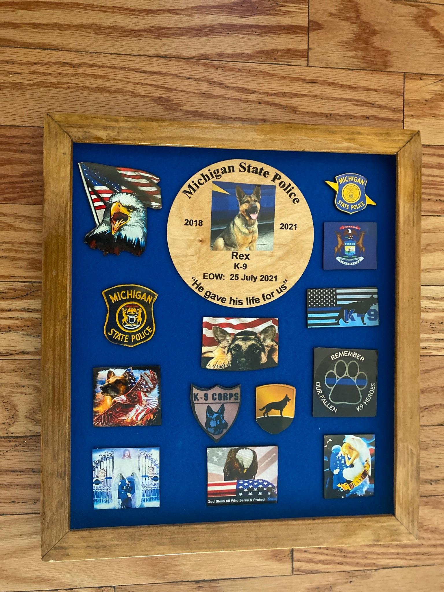 K9 Rex | Michigan State Police, Michigan
