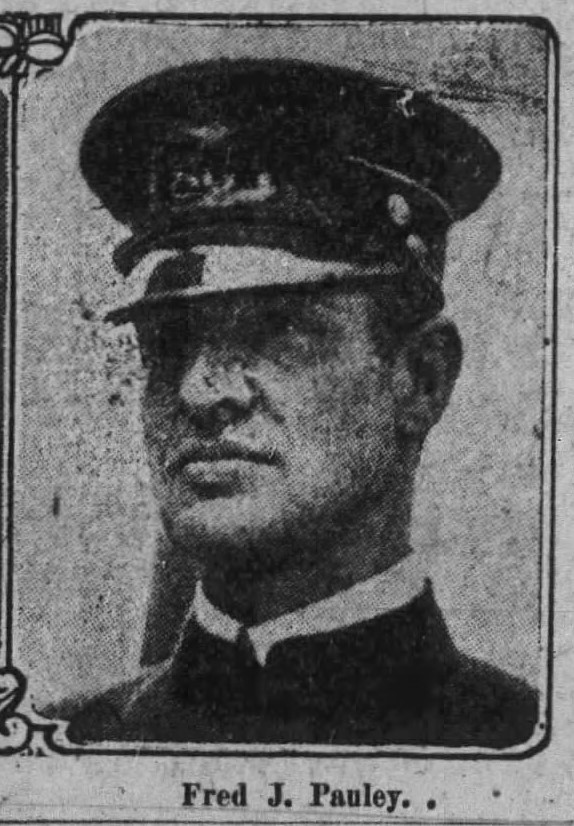 Patrolman Fred J. Pauley | Buffalo Police Department, New York