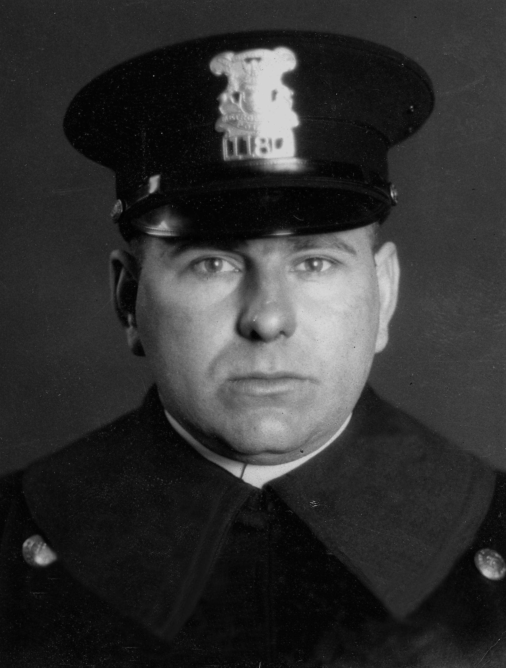 Sergeant Edward D. Perrin | Detroit Police Department, Michigan