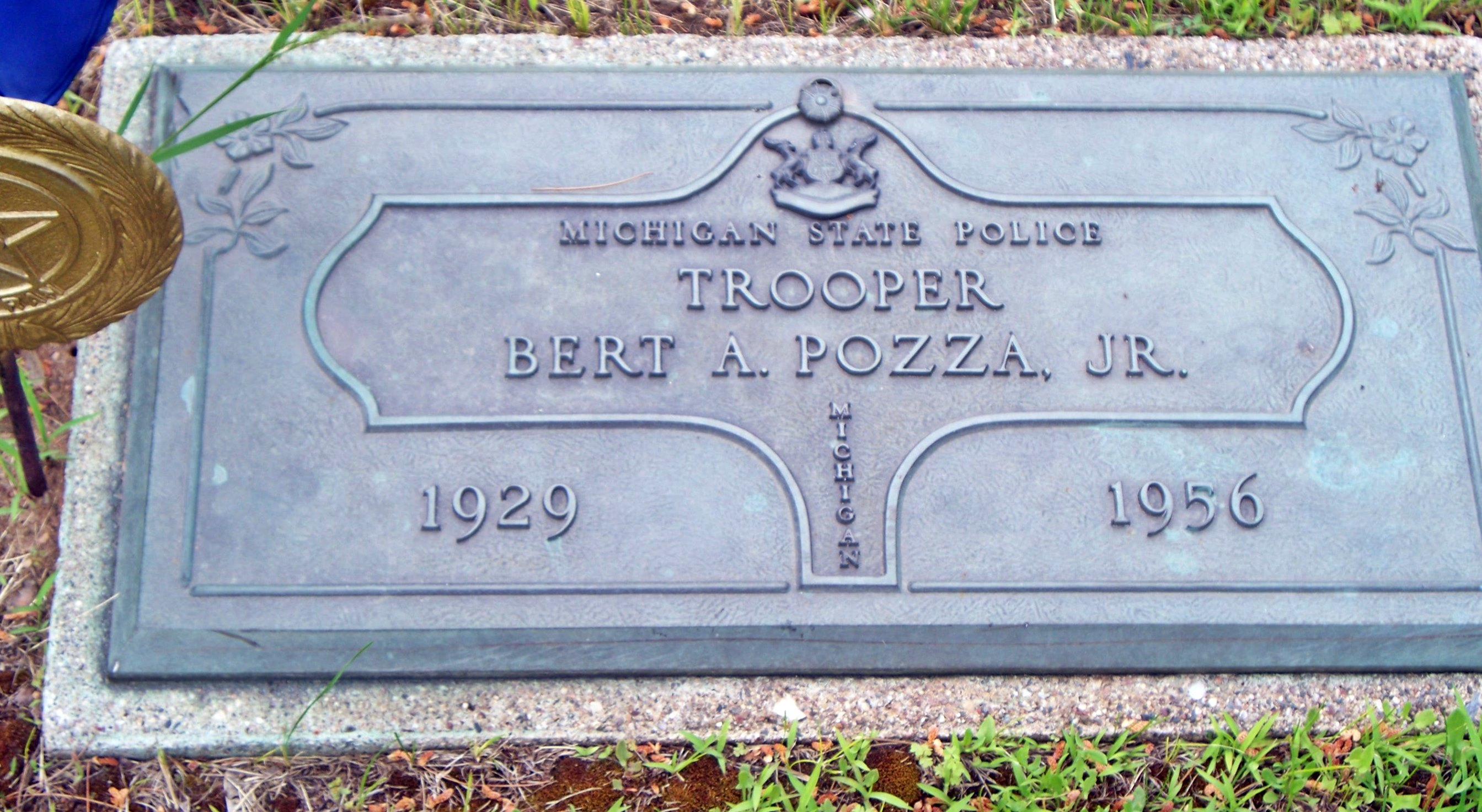 Trooper Bert Anthony Pozza | Michigan State Police, Michigan