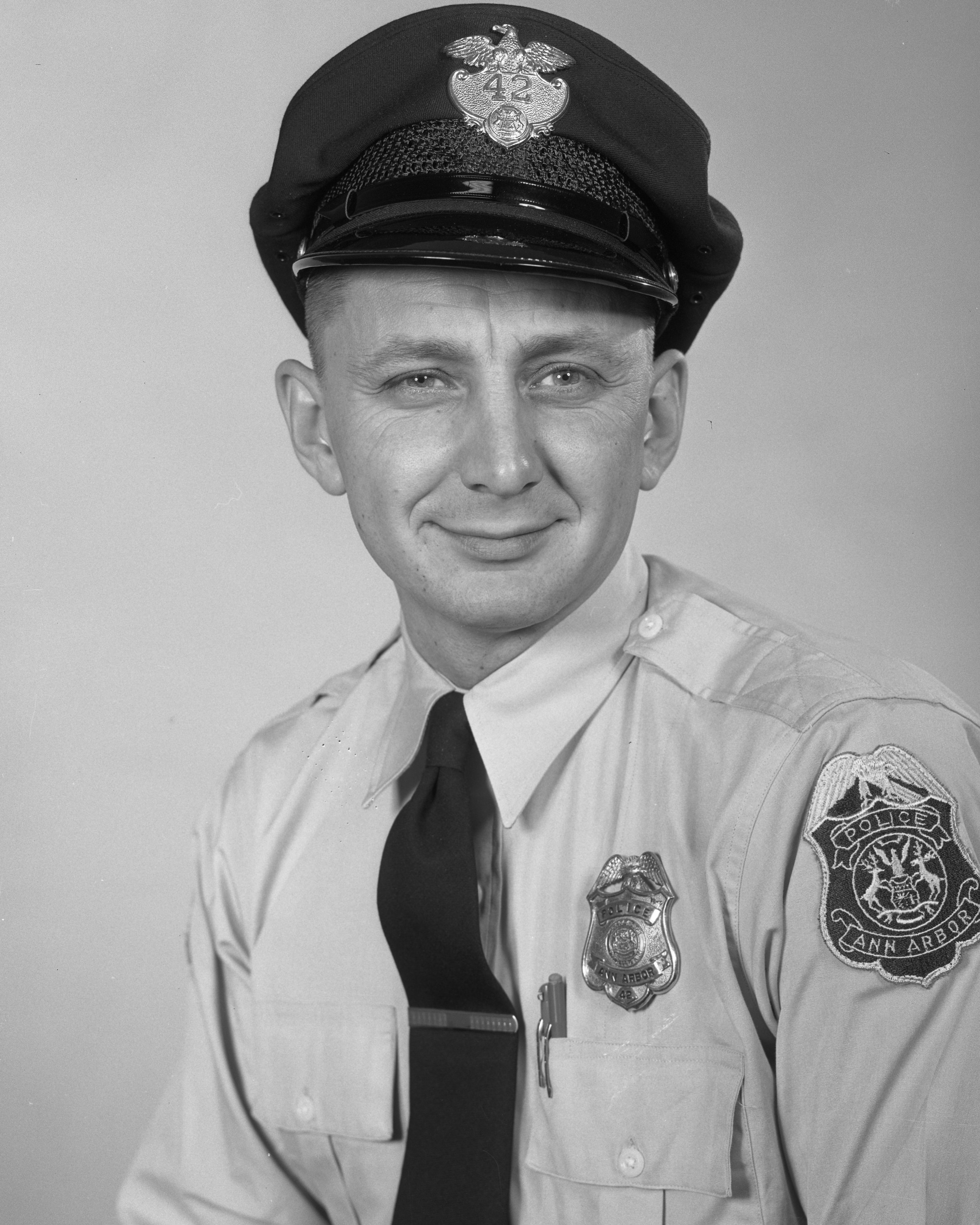 Patrolman Leonard William Alber | Ann Arbor Police Department, Michigan