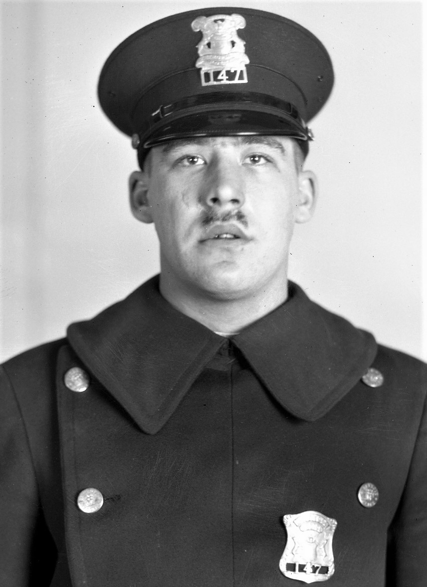 Police Officer Hiram J. Reno | Detroit Police Department, Michigan