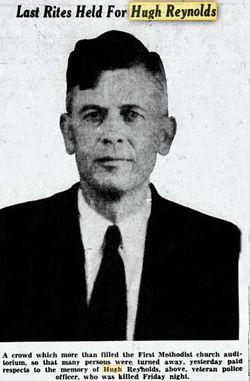 Patrolman Hugh Reynolds | Seminole Police Department, Oklahoma