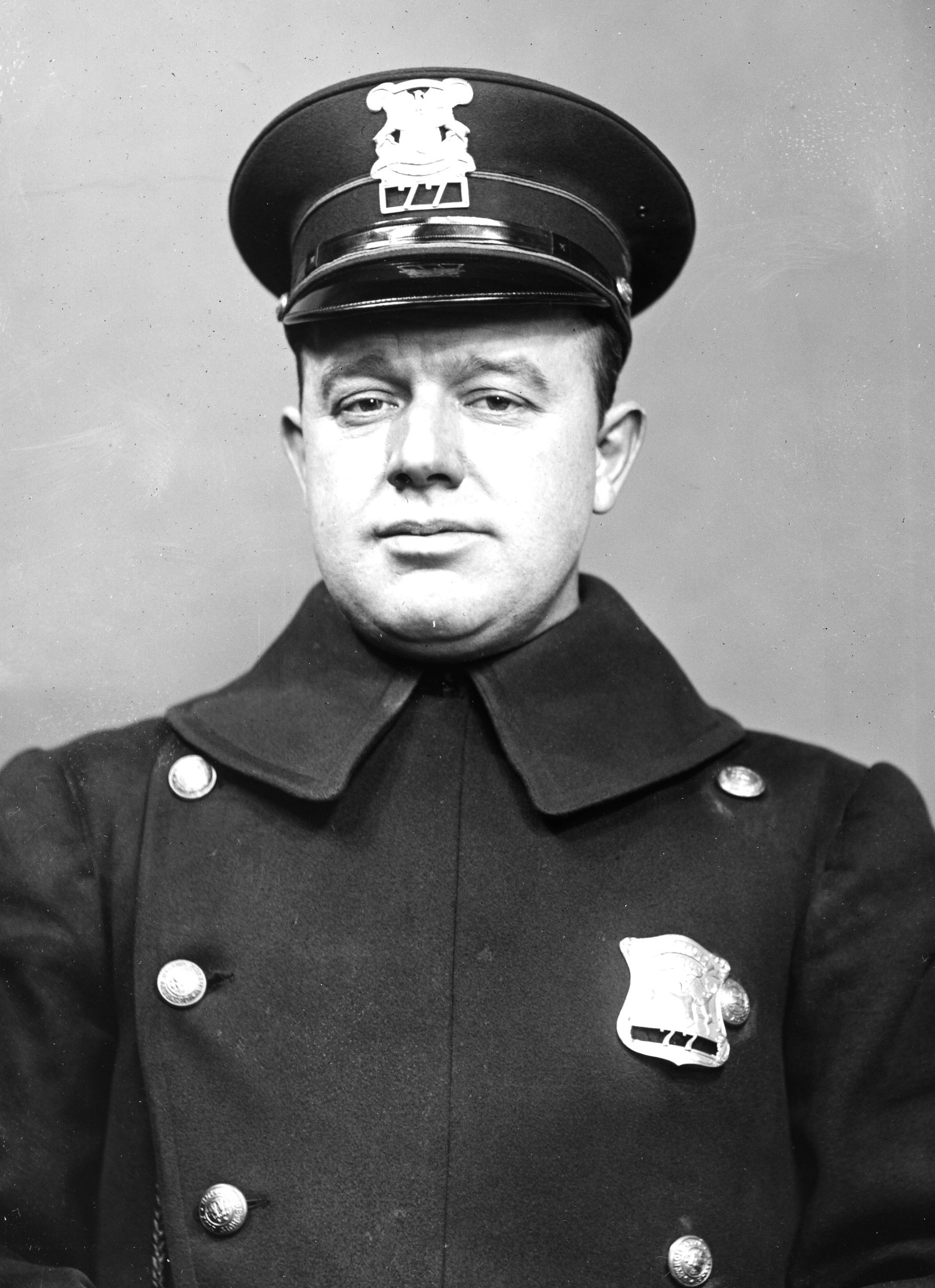 Police Officer Harold G. Roughley | Detroit Police Department, Michigan