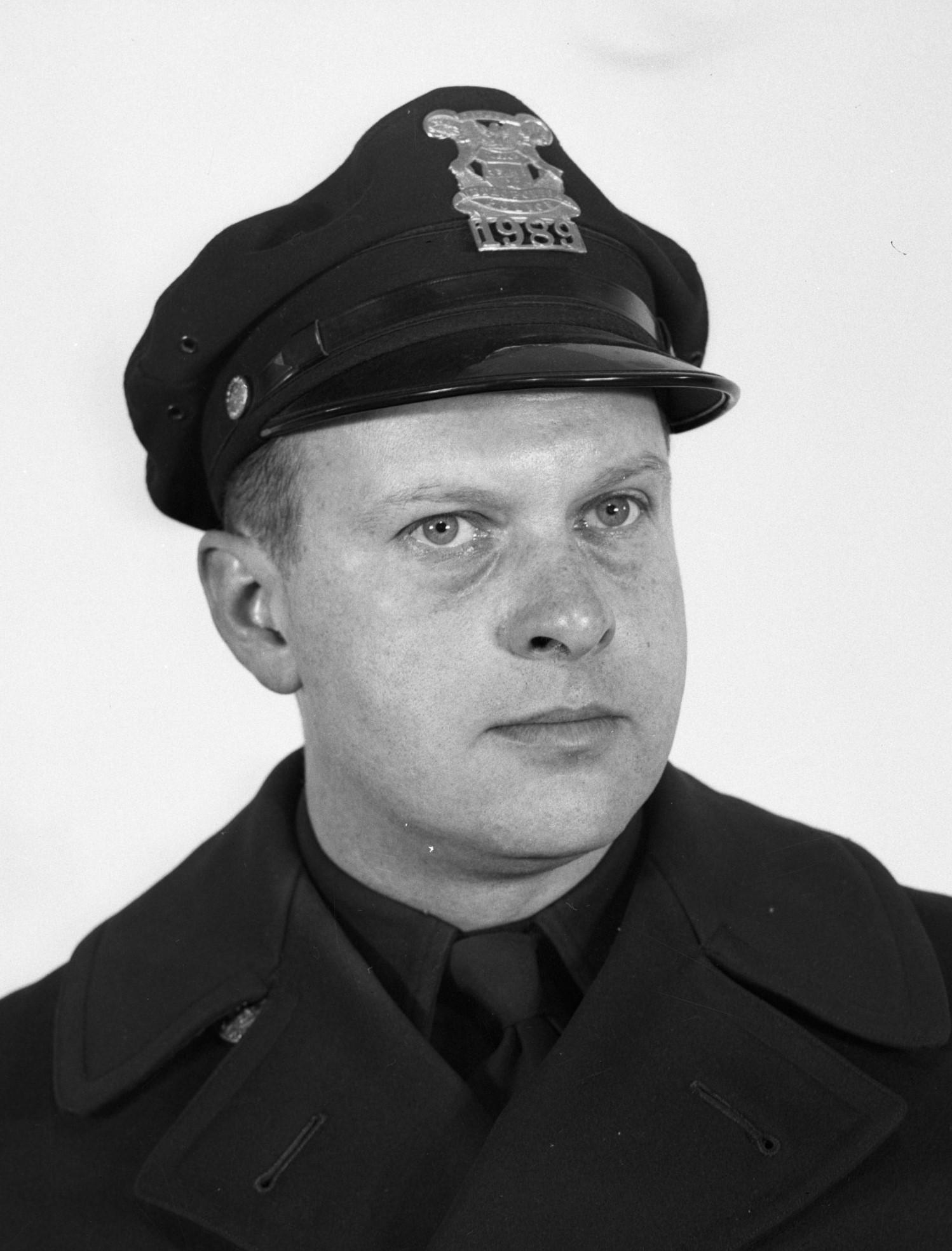 Police Officer Gordon G. Schneider | Detroit Police Department, Michigan