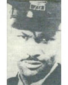 Patrolman Leon Scott, Saginaw Police Department, Michigan