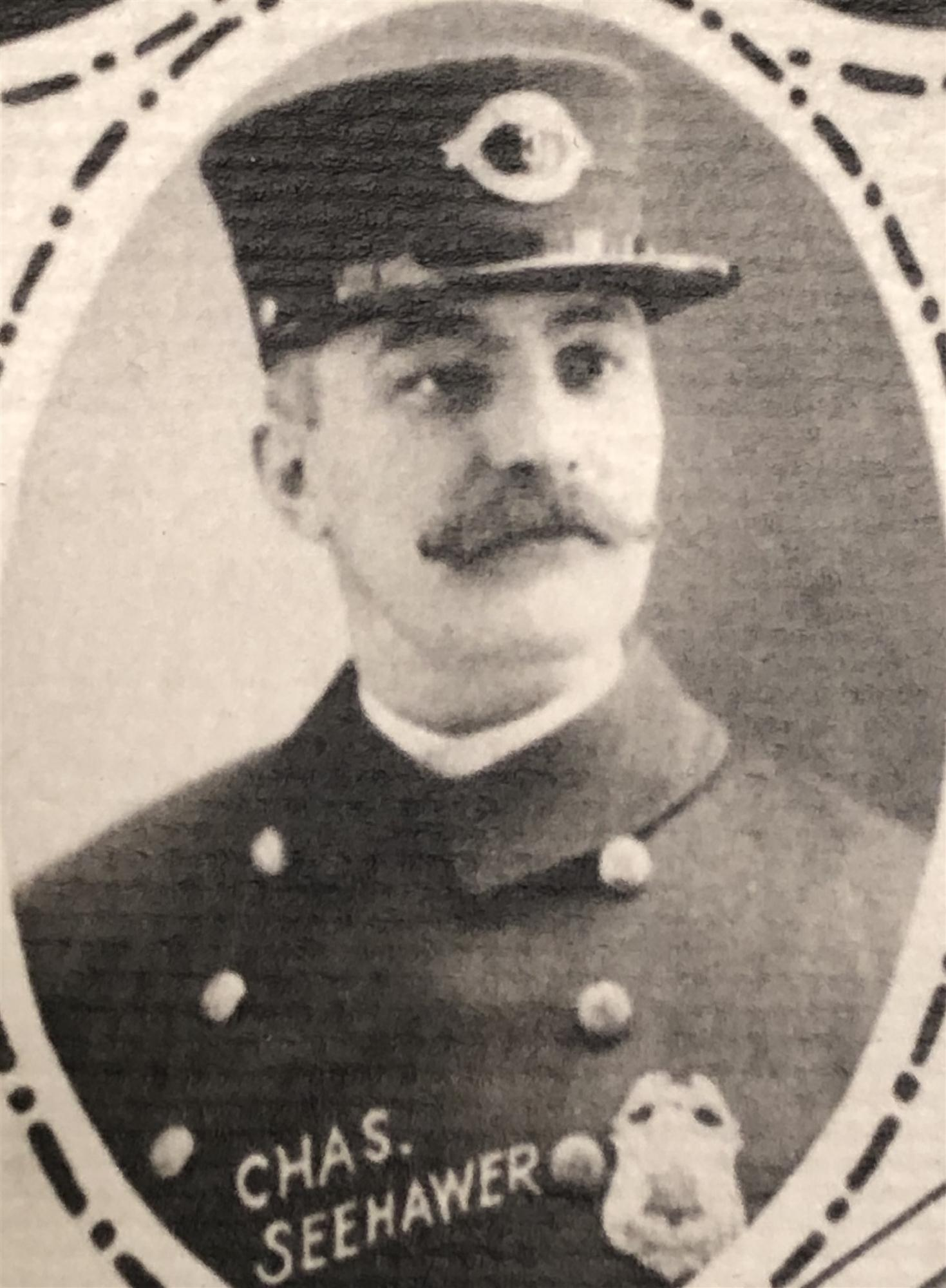 Police Officer Charles Seehawer   Milwaukee Police Department, Wisconsin