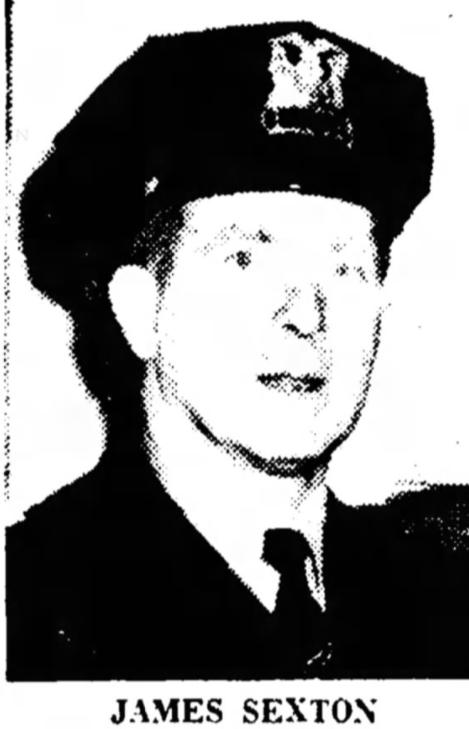 Patrolman James O. Sexton   Chicago Police Department, Illinois