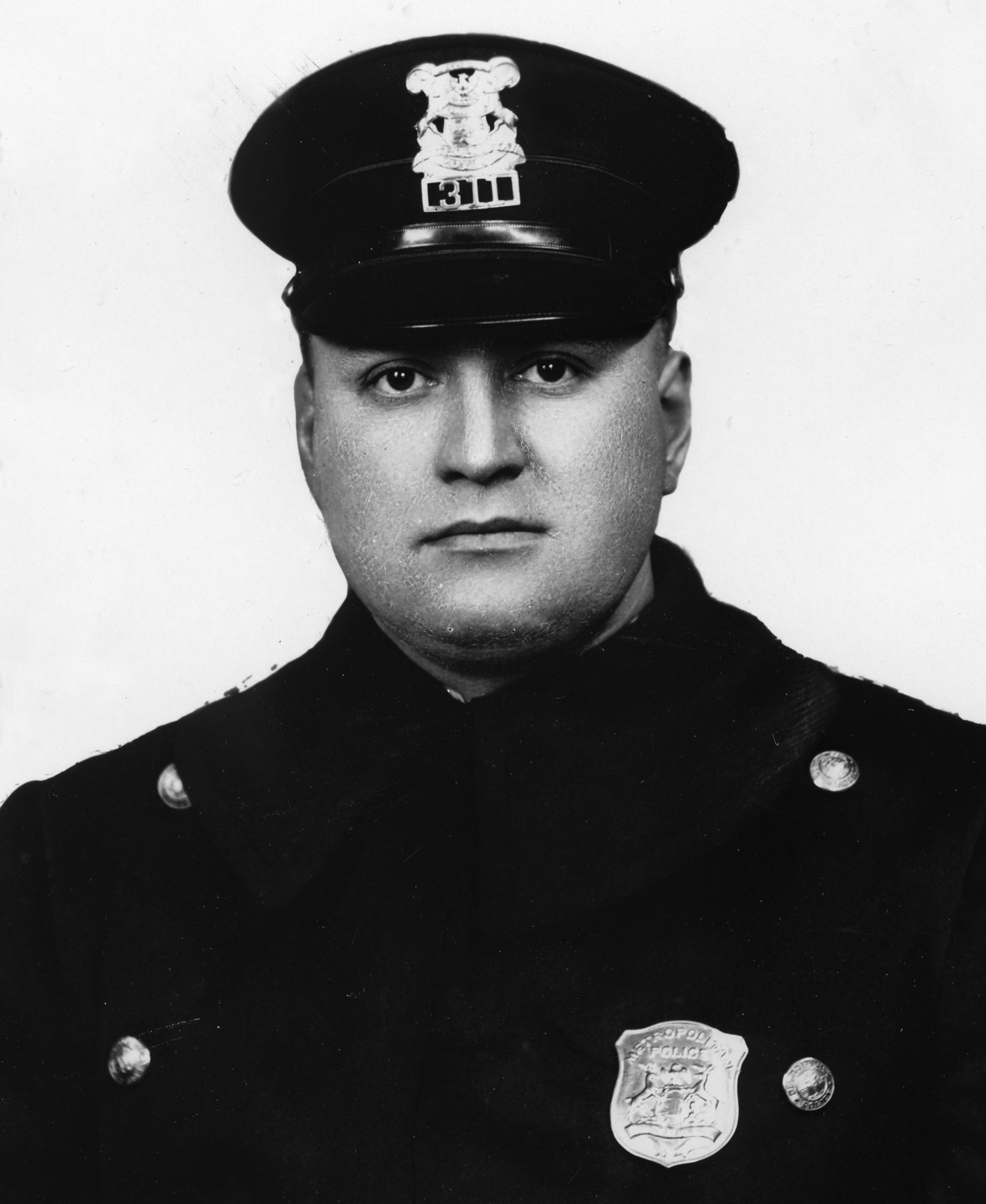 Police Officer Charles William Sieger | Detroit Police Department, Michigan