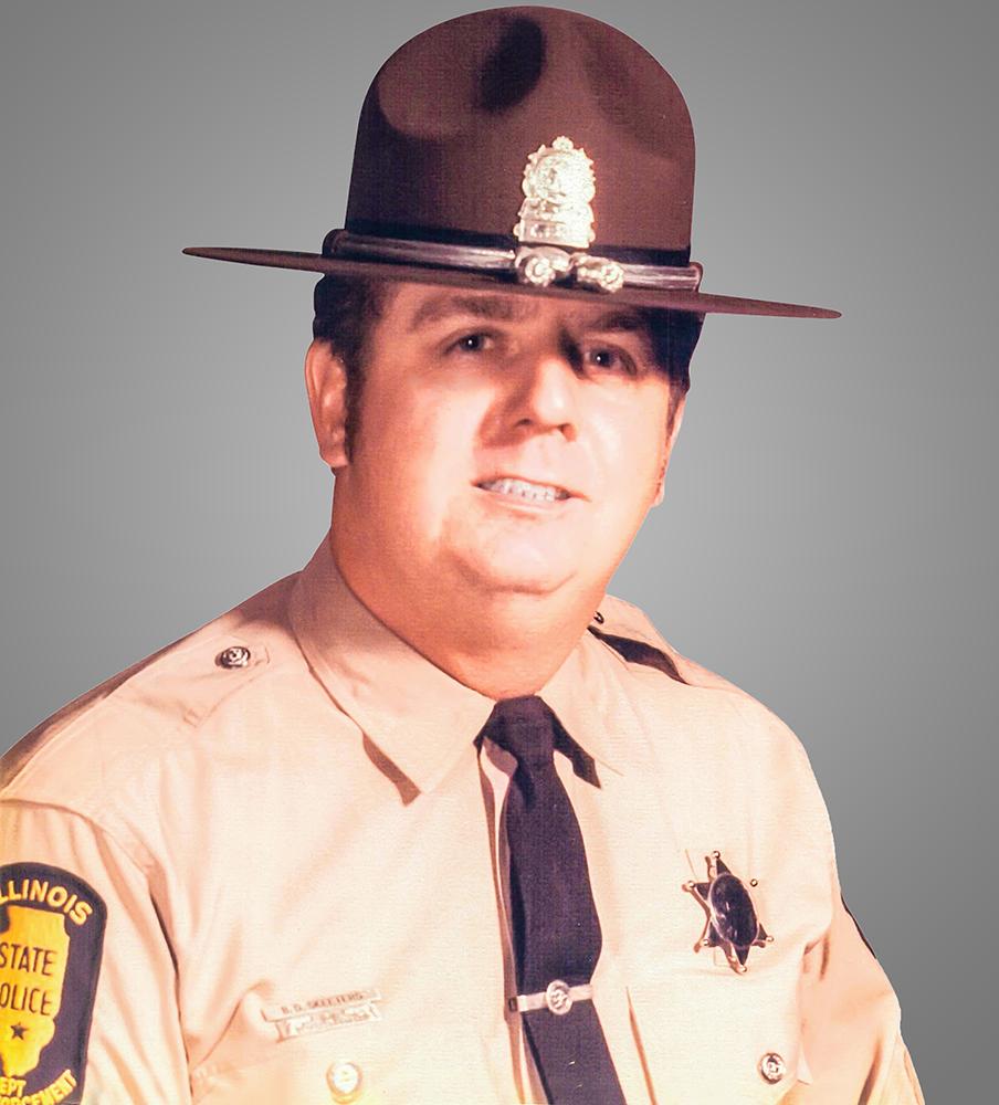 Trooper Bernard Delano Skeeters | Illinois State Police, Illinois