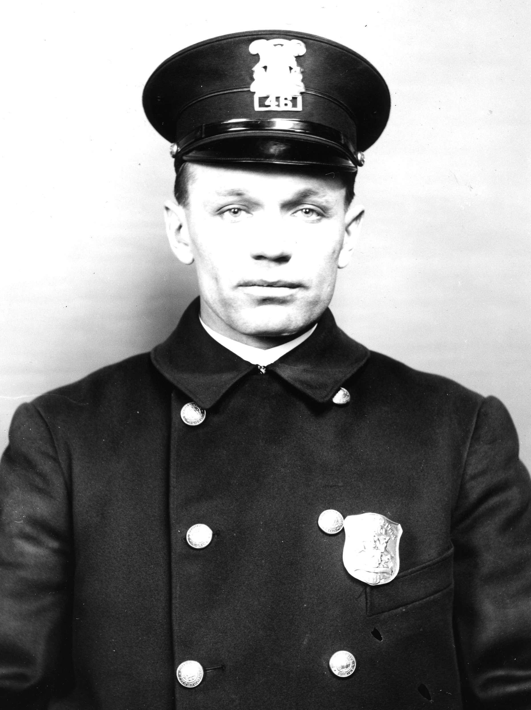 Police Officer Henry G. Angell | Detroit Police Department, Michigan