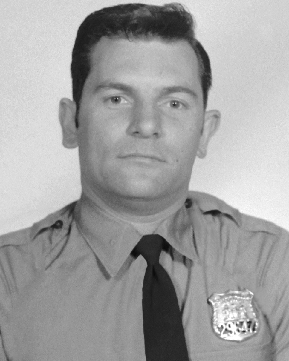 Police Officer Ralph J. Stanchi   New York City Police Department, New York