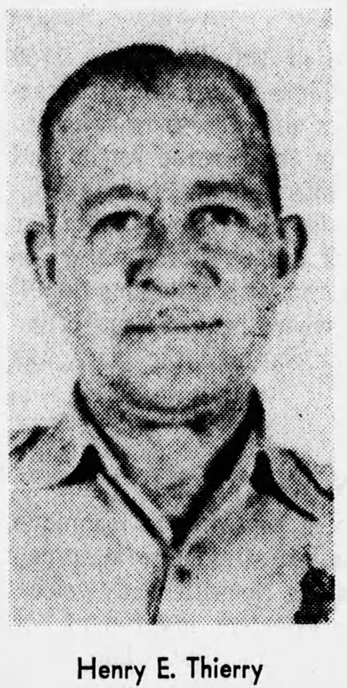Guard Officer I Henry E. Thierry, Sr. | St. Louis County Department of Welfare, Missouri