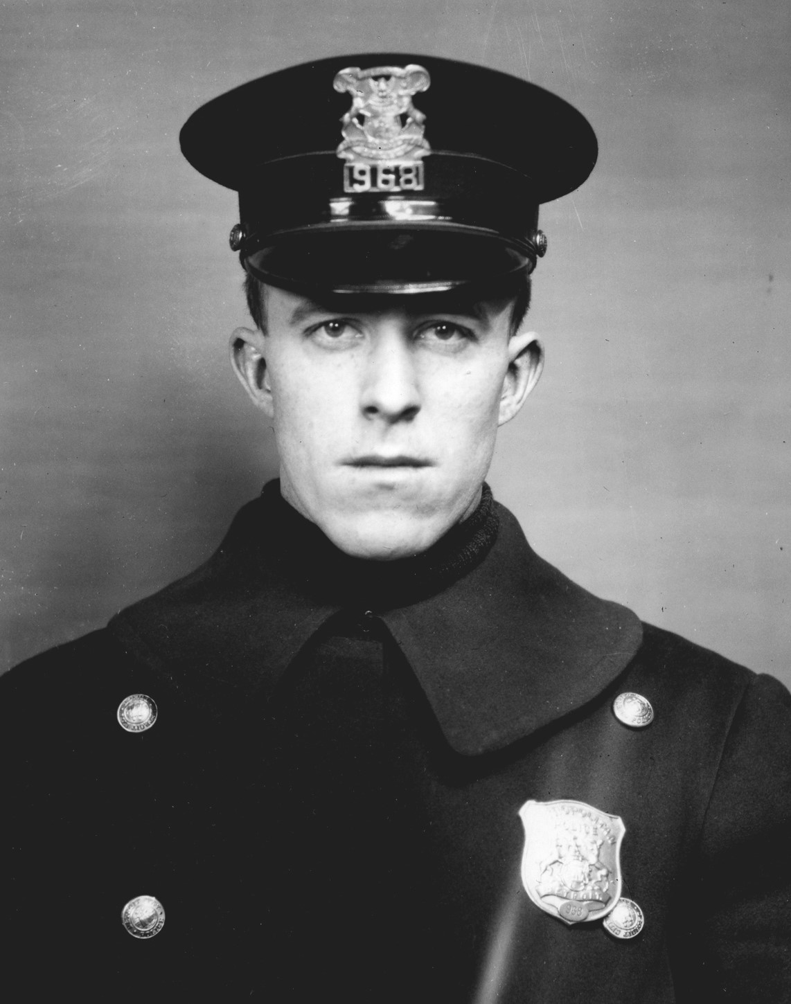 Police Officer Norman Frank Towler | Detroit Police Department, Michigan