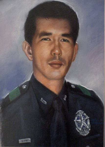 Police Officer Sunny Ma Lov, Dallas Police Department, Texas