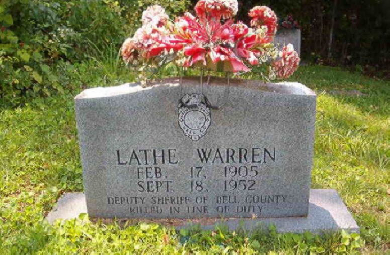 Deputy Sheriff Lathe Warren | Bell County Sheriff's Department, Kentucky