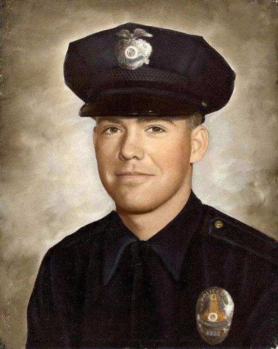 Policeman Roger Renick Warren, Jr. | Los Angeles Police Department, California
