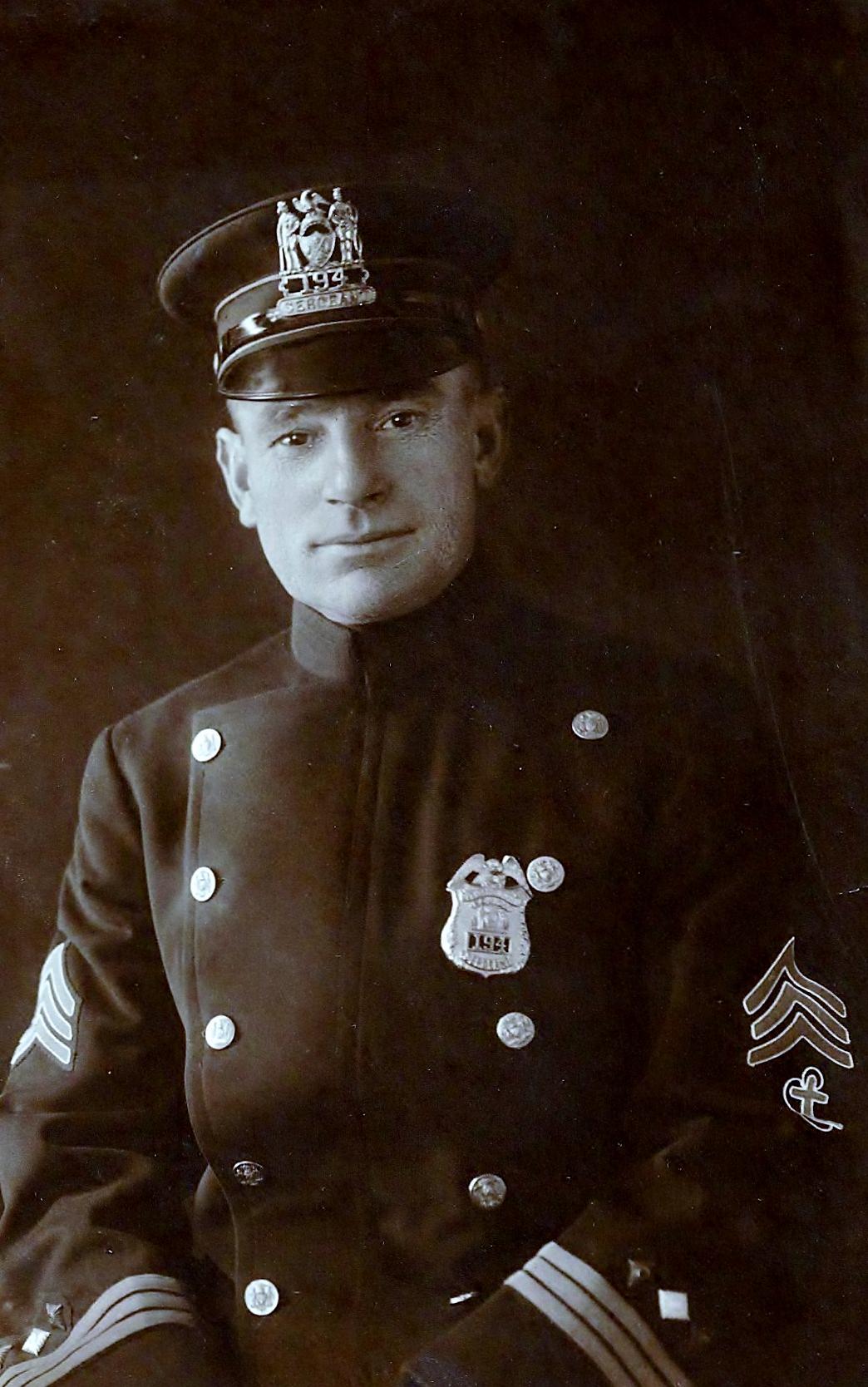 Sergeant Joseph Weckesser | New York City Police Department, New York