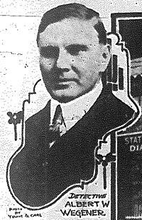Detective Albert W. Wegener | Cincinnati Police Department, Ohio