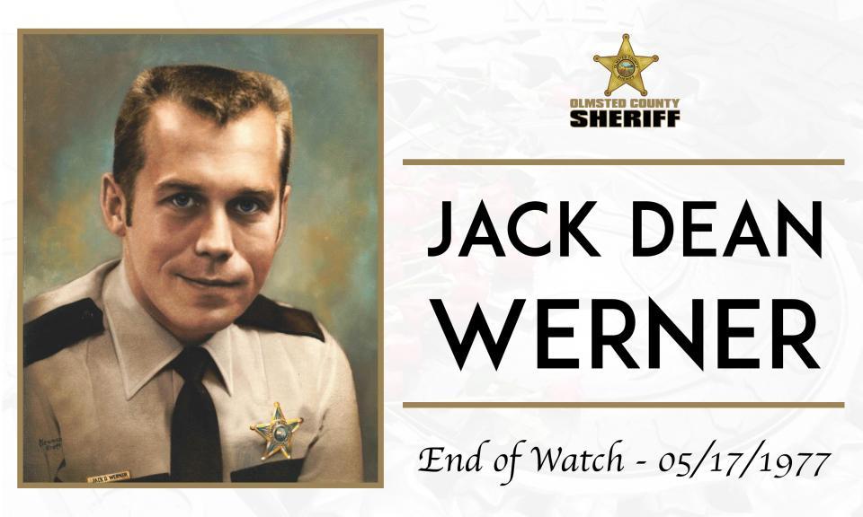 Deputy Sheriff Jack Dean Werner | Olmsted County Sheriff's Office, Minnesota