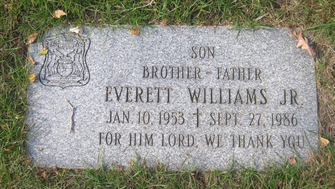 Police Officer Everett Williams, Jr. | Detroit Police Department, Michigan