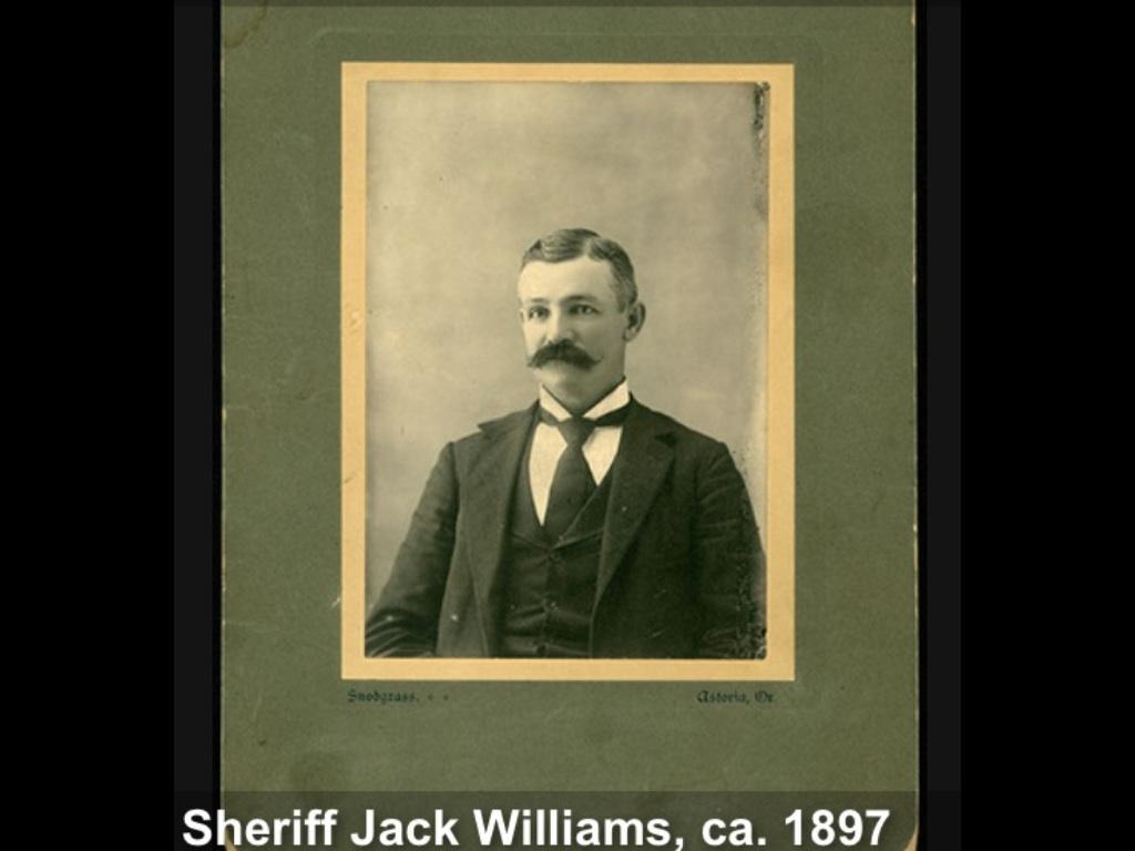 Sheriff Jack W. Williams | Clatsop County Sheriff's Office, Oregon