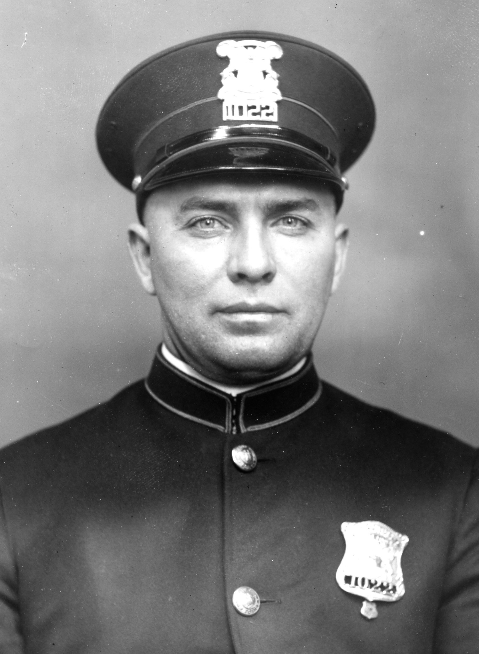 Police Officer Otto August Balk | Detroit Police Department, Michigan