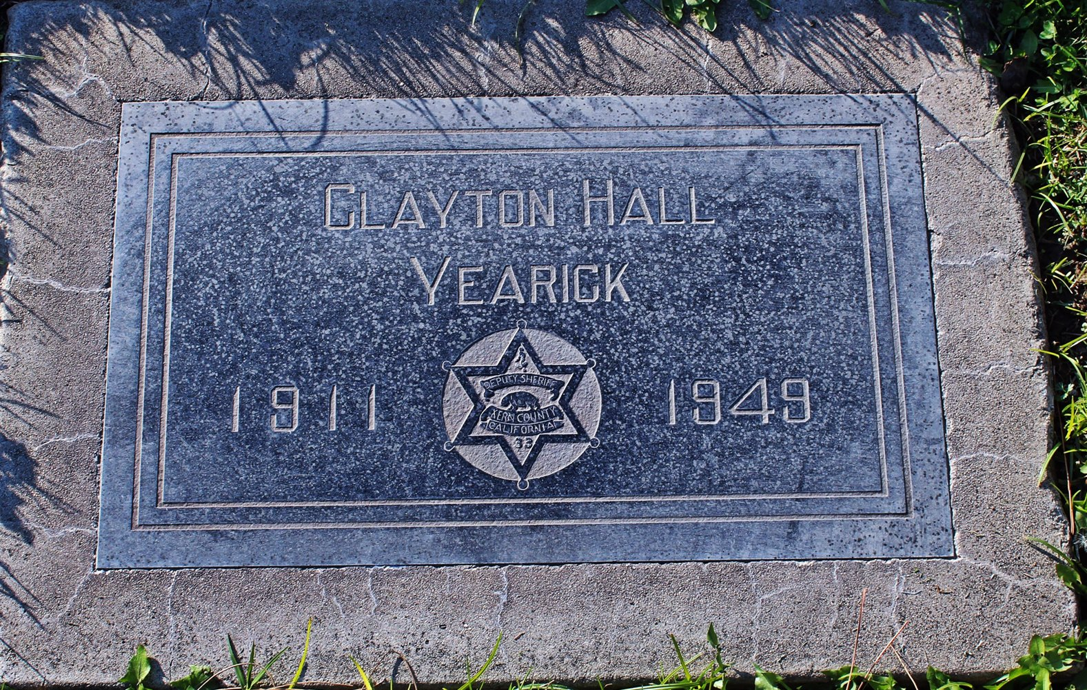 Sergeant Clayton Hall Yearick | Kern County Sheriff's Office, California