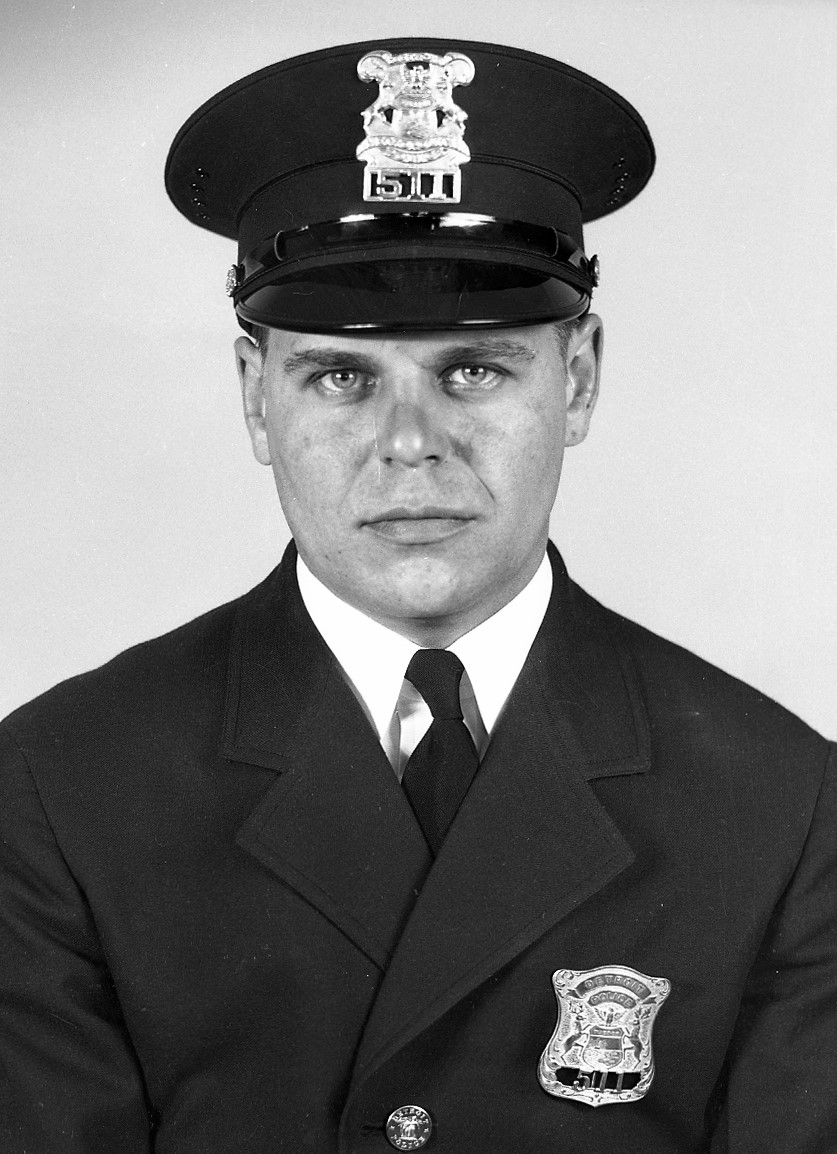Police Officer John E. Zeh | Detroit Police Department, Michigan