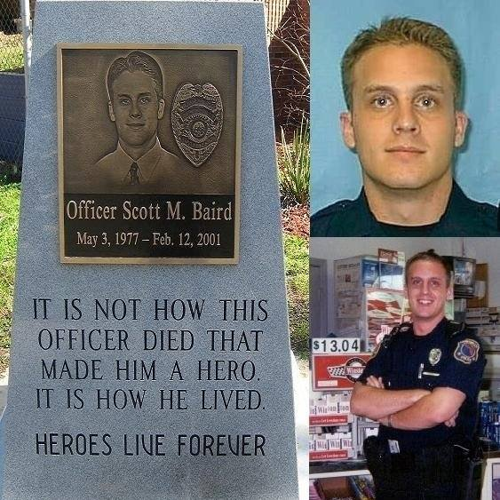 Police Officer Scott Matthew Baird | Gainesville Police Department, Florida