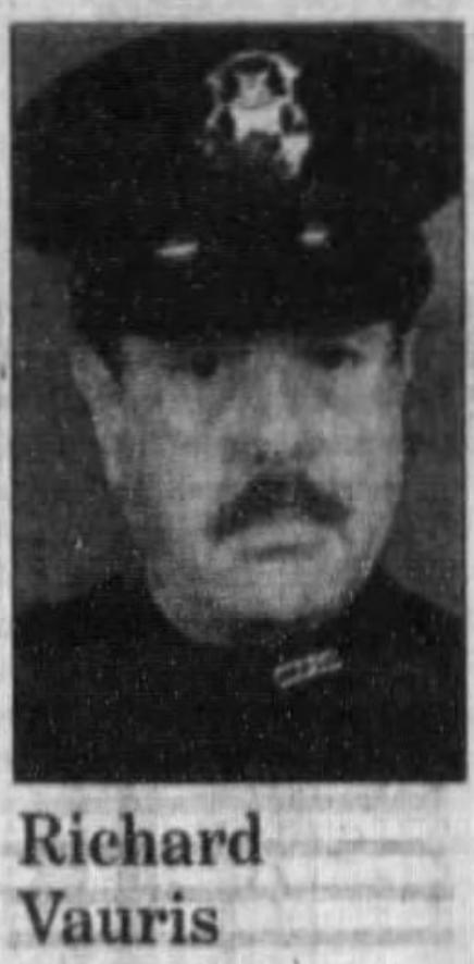 Officer Richard L. Vauris   Clinton Township Police Department, Michigan