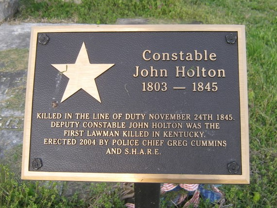 Constable John Holton | Augusta Police Department, Kentucky