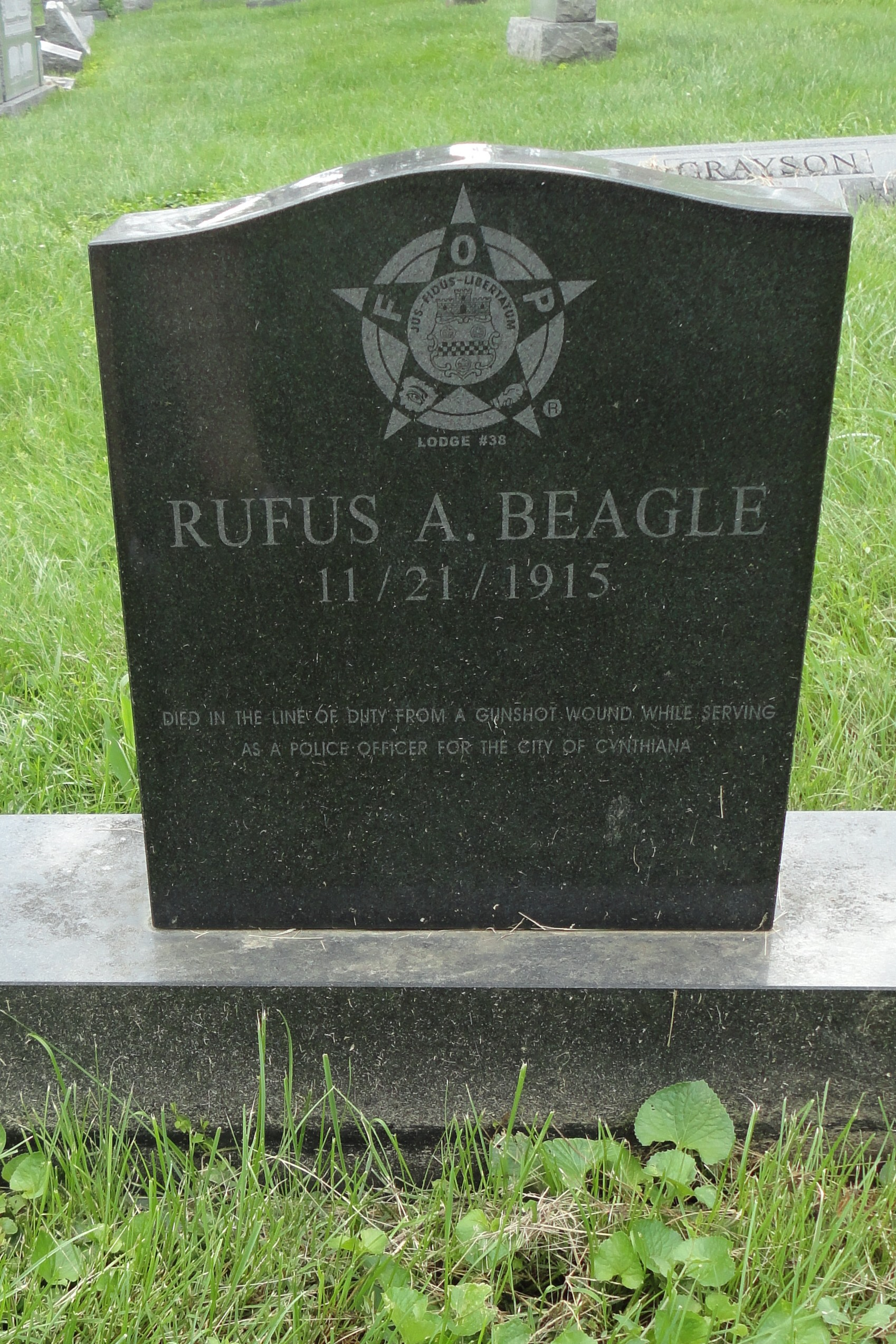 Officer Rufus A. Beagle | Cynthiana Police Department, Kentucky