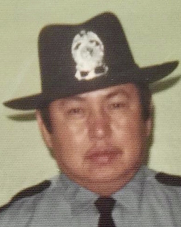 Chief of Police William Bearshield   Gregory Police Department, South Dakota