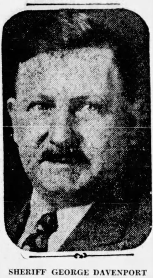 Sheriff George Davenport | Crawford County Sheriff's Office, Ohio