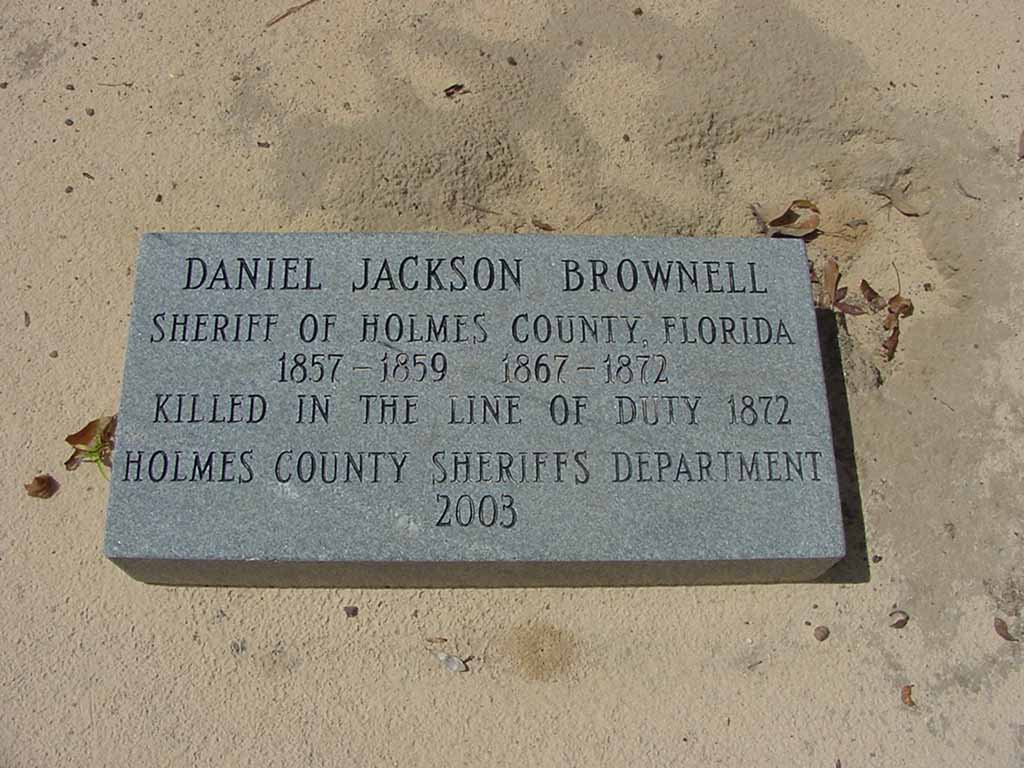 Sheriff Daniel Jackson Brownell | Holmes County Sheriff's Office, Florida
