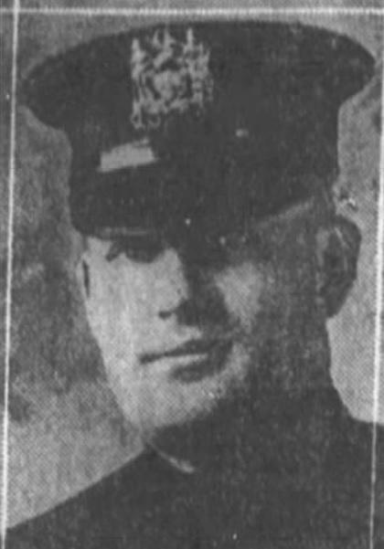 Patrolman Thomas J. Leonard | New York City Police Department, New York