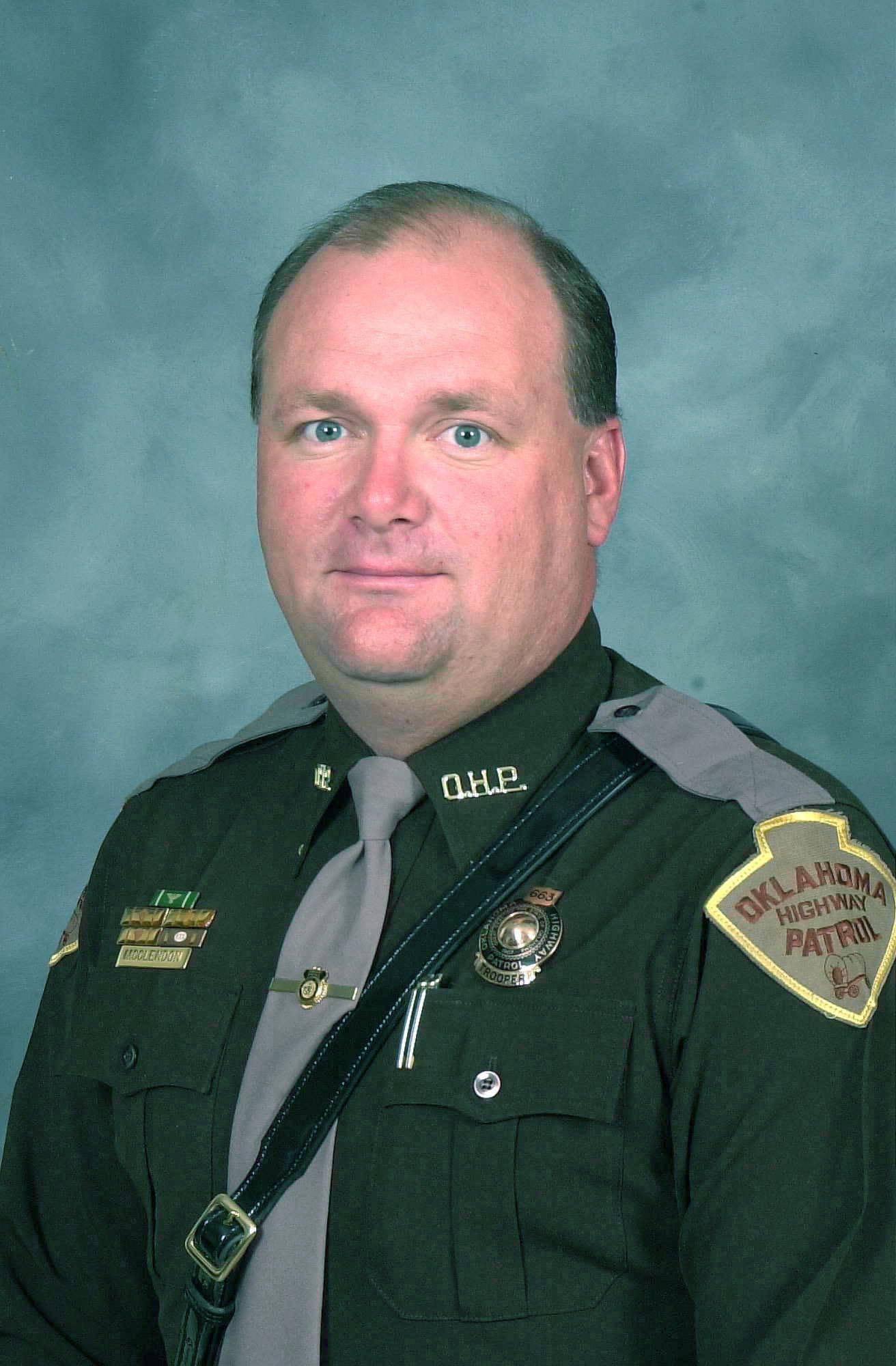 Trooper William Lloyd McClendon | Oklahoma Highway Patrol, Oklahoma