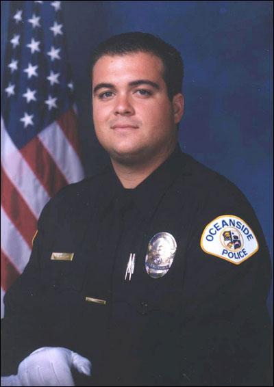 Police Officer Daniel S. Bessant   Oceanside Police Department, California