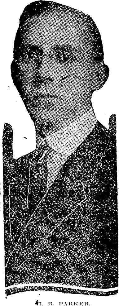 Deputy Marshal Howell B. Parker   Atlanta Municipal Court, Georgia