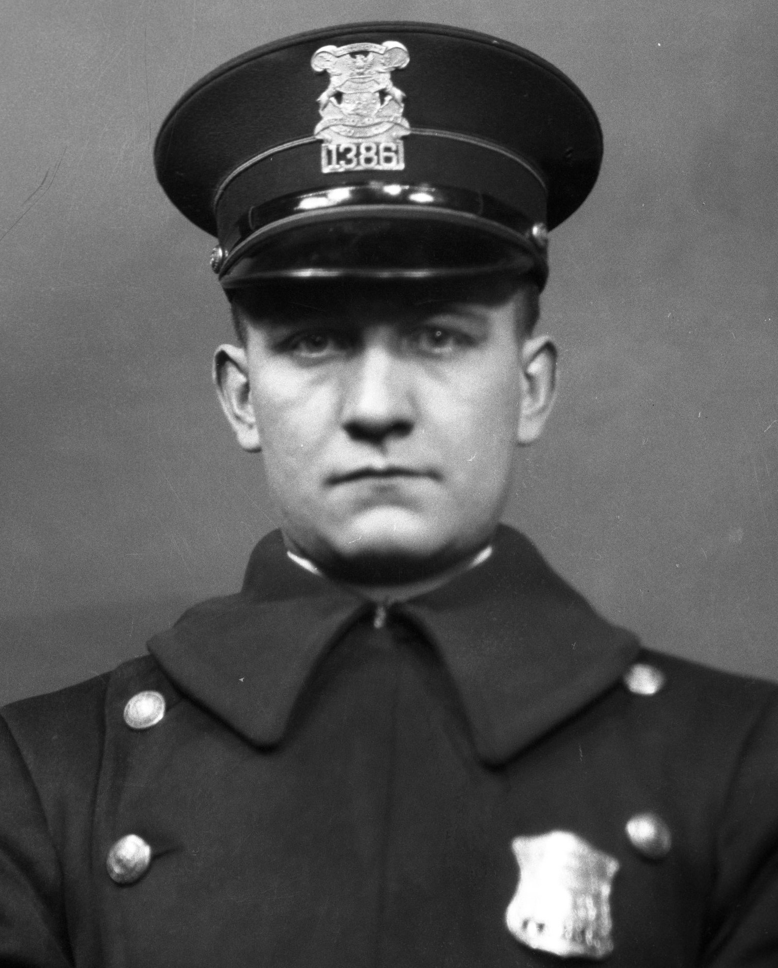 Police Officer Herbert J. Bischoff | Detroit Police Department, Michigan
