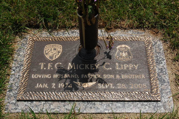 Trooper First Class Mickey Charles Lippy   Maryland State Police, Maryland