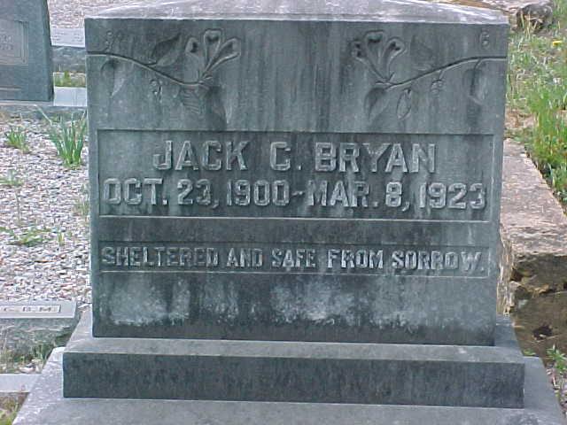 Policeman Jack C. Bryan | Lula Marshal's Office, Georgia