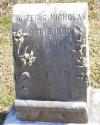 Town Marshal Walter G. Nicholas | Delhi Police Department, Louisiana