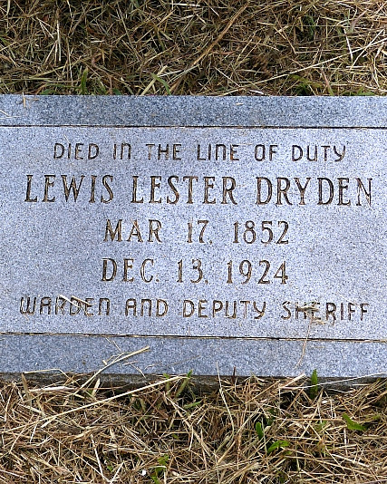 Deputy Sheriff Lewis Lester Dryden | Somerset County Sheriff's Office, Maryland
