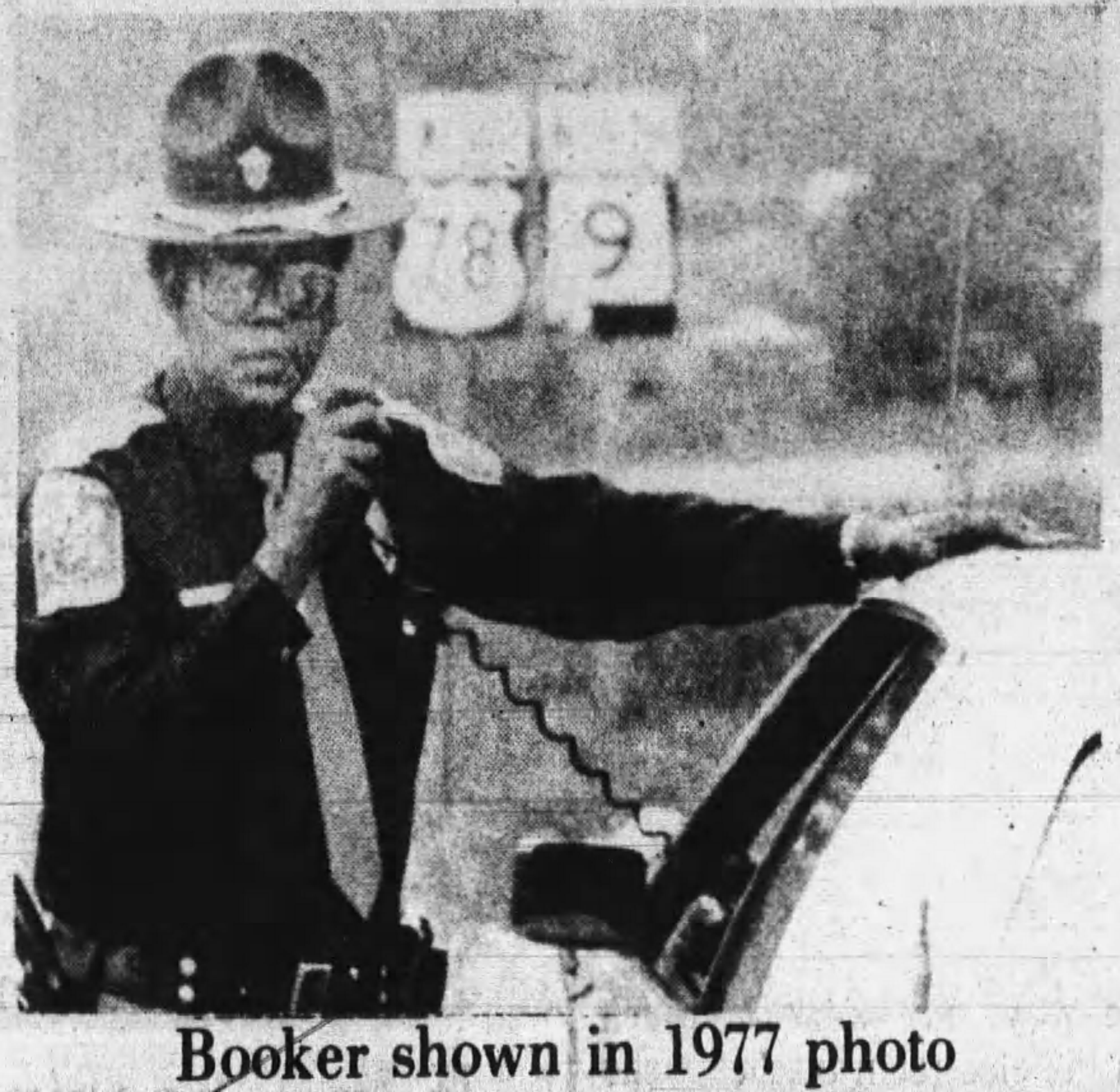 Trooper Johnnie Earl Booker | Alabama Department of Public Safety, Alabama