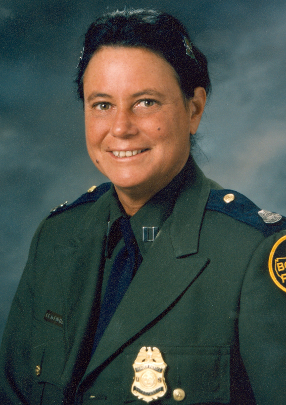 Supervisory Patrol Agent Trena Renee McLaughlin | United States Department of Justice - Immigration and Naturalization Service - United States Border Patrol, U.S. Government