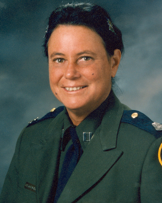 Supervisory Border Patrol Agent Trena Renee McLaughlin | United States Department of Justice - Immigration and Naturalization Service - United States Border Patrol, U.S. Government